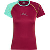 La Sportiva MR Event Tee Women berry/mint